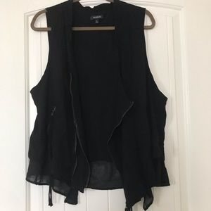 Torrid Layered Moto Vest